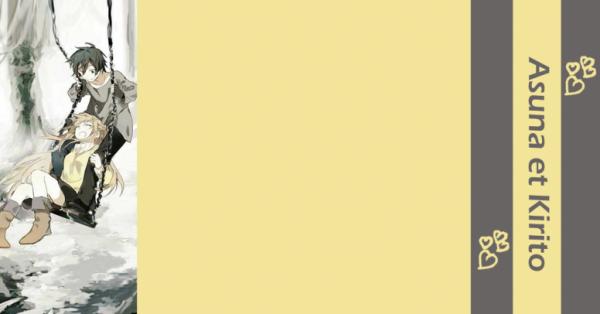 Habillage 09 : Asuna et Kirito