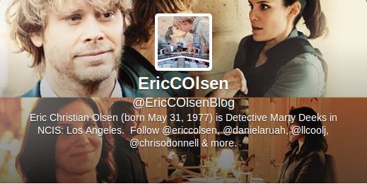 . Eric Christian Olsen .