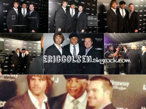 . Eric était de sortie la journée des Grammy Awards + Flash Back de My Life As A Dad et OMG! Insider .