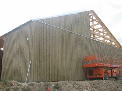 batiment en construction