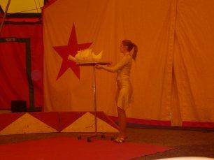 Reportage cirque Landri en 2009 (suite) SPECTACLE