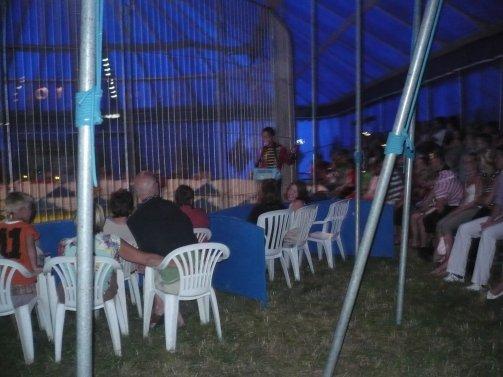 Reportage Nouveau cirque Triomphe 2008 (spectacle)