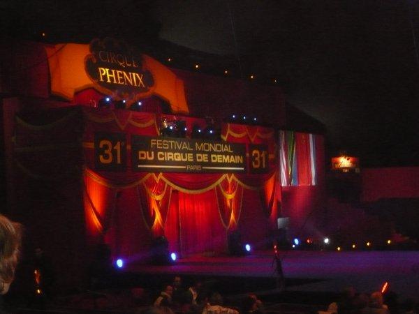 Reportage 31eme festival international du cirque de demain ! (au cirque Phenix) 2010