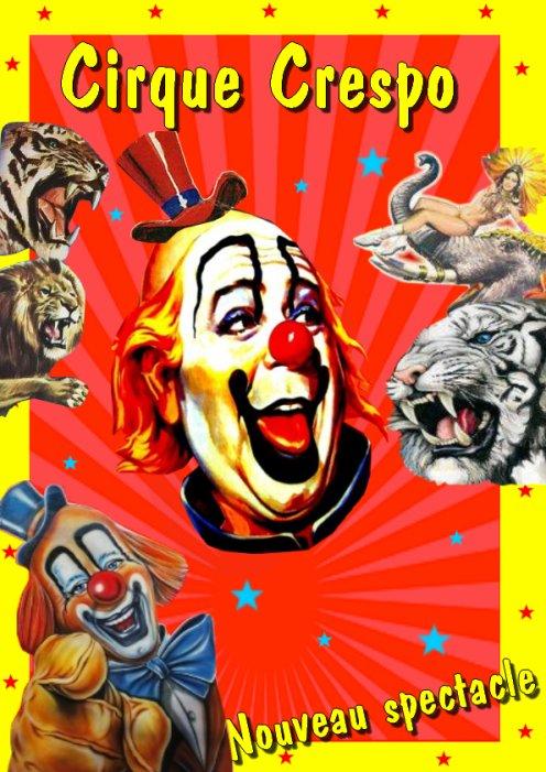 Affiche créée par moi pour Number-1-cirque-du-30