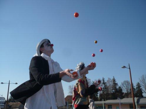 Carnaval de champagnole, école de cirque