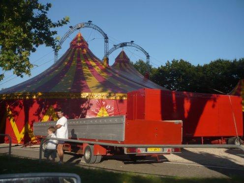 Cirque zavatta fils à Dole