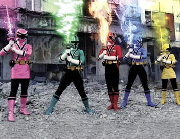 Les power rangers samurai.