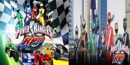 Power Rangers RPM.