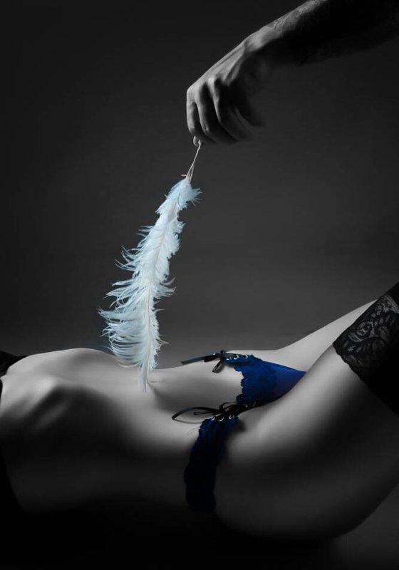 pleine de sensualité