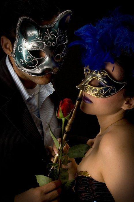 couple masquerade