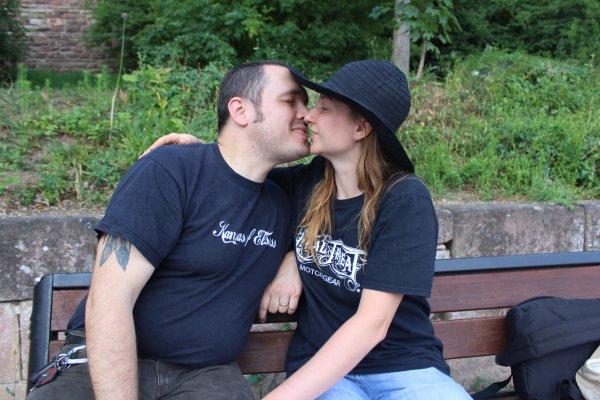 Aujourd'hui c'est nos 7 ans de mariage , noce de laine .
