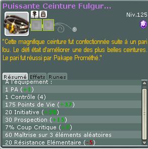 Chasse aux reliques - Episode : Puissante Ceinture Fulgu !