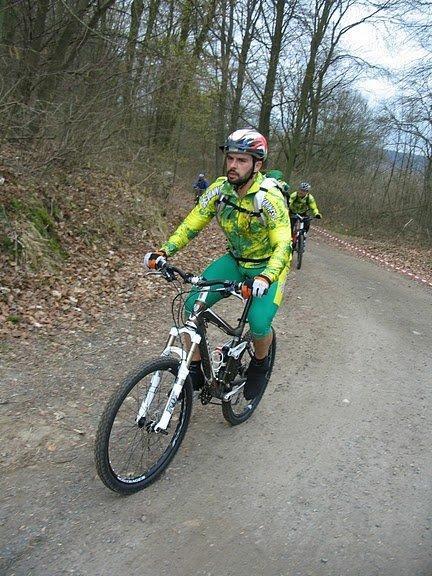 Rando VTT Bellefontaine (mars 2011)
