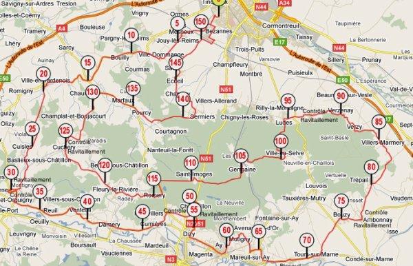 54e Brevet Cyclotouriste de la Montagne de Reims (juin 2011)