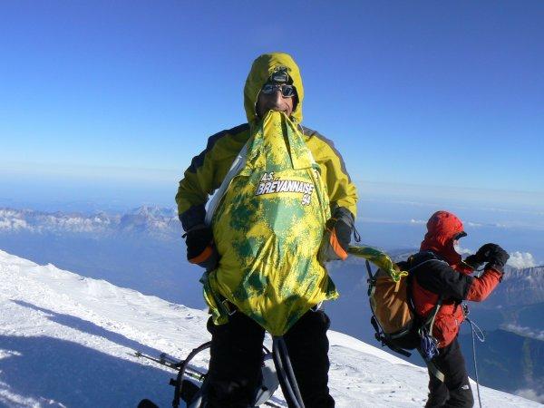 Pascal R. au Mont Blanc (juillet 2011)