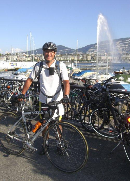 Tour cyclotouriste du Lac Léman (août 2011)