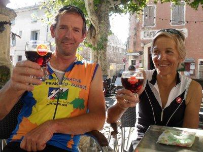 Gerda et Louis au Ventoux (octobre 2011)