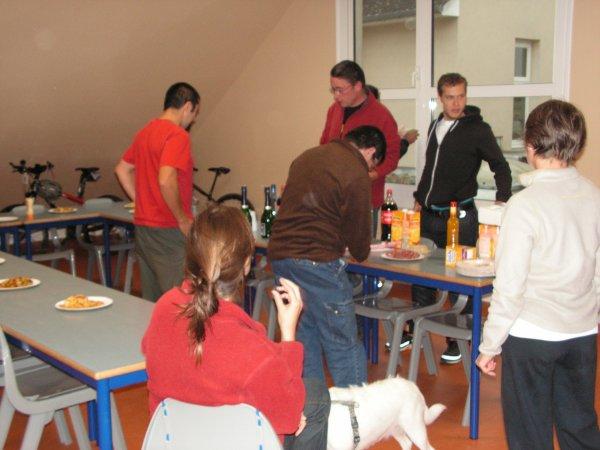 Weekend des Vététistes Cosne sur Loire le 8 et 9 Octobre 2011