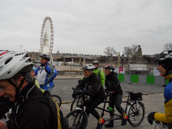 Sortie VTT à Paris (janvier 2012), ASPTT