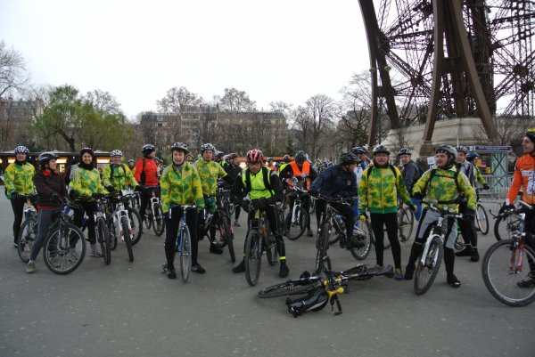 Sortie VTT à Paris (janvier 2012), JPB