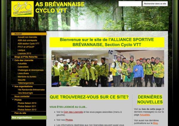 Nouveau site (février 2012)