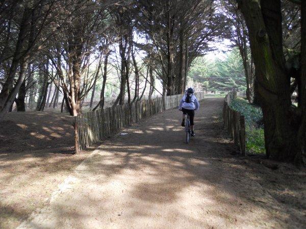 Cycloguide 56, Morbihan à vélo (février 2012)