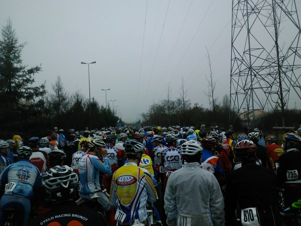 Cyclosportive: la Jacques Gouin (mars 2012)