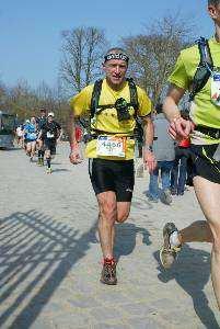 Patrice et le trail (mars 2012)