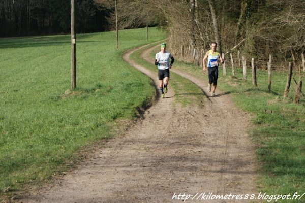 Trail de Corbenay (avril 2012)