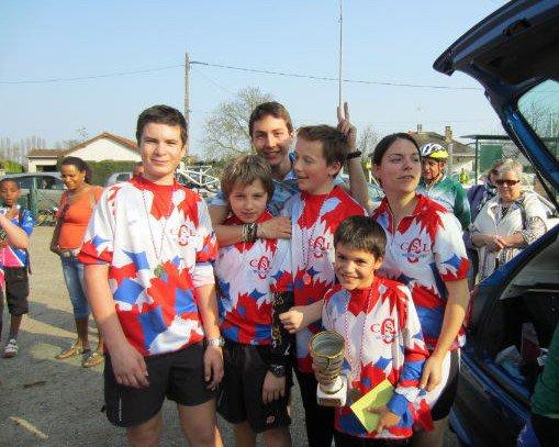 Audax des Jeunes du CoDep 94 (mars 2012)
