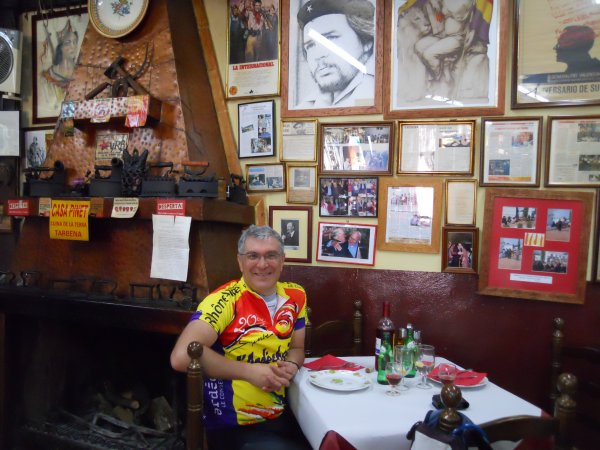 L'Auberge Rouge, séjour en Espagne (avril 2012)