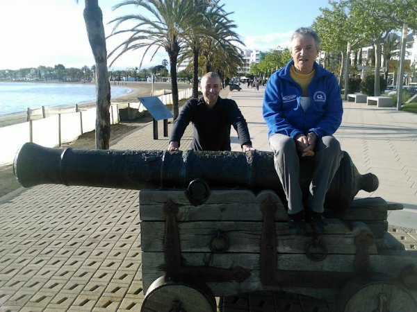 Stage de Roses (avril 2012), 3/4: Photos de Louis et de Manu