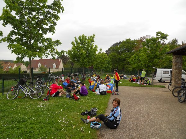 Tourisme à vélo à Gazeran, 78 (mai 2012)