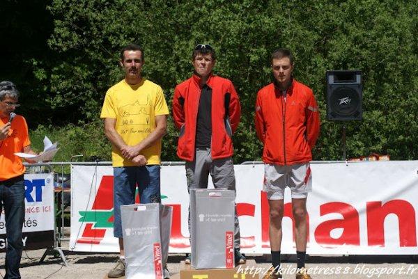 Trail des 1000 Étangs + Triathlon Vauban (mai 2012)