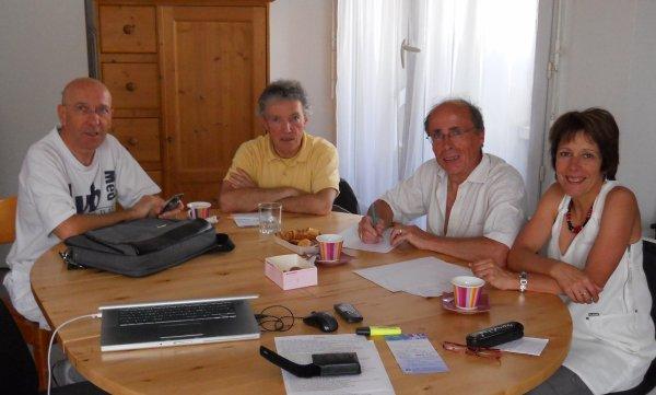 Réunion du comité de rédaction (mai 2012)