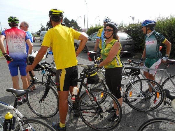 Audax 150 km de Montgeron (juin 2012)