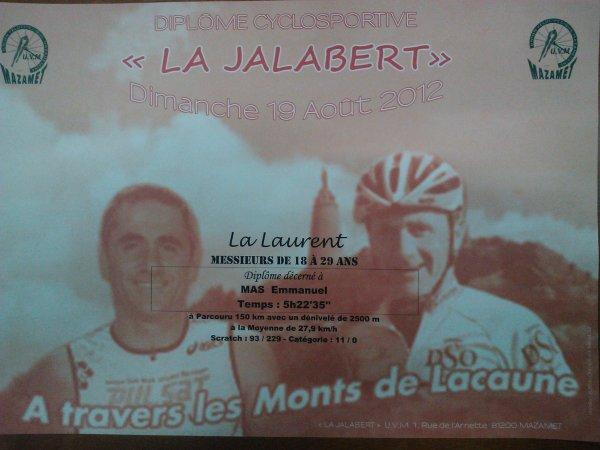 La Jalabert à Mazamet (août 2012)