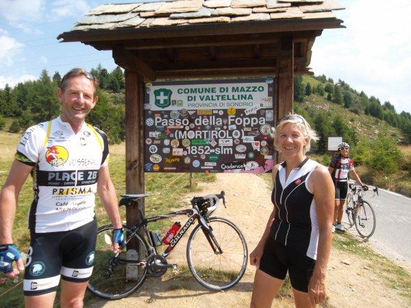 Louis et Gerda au sommet (août 2012)