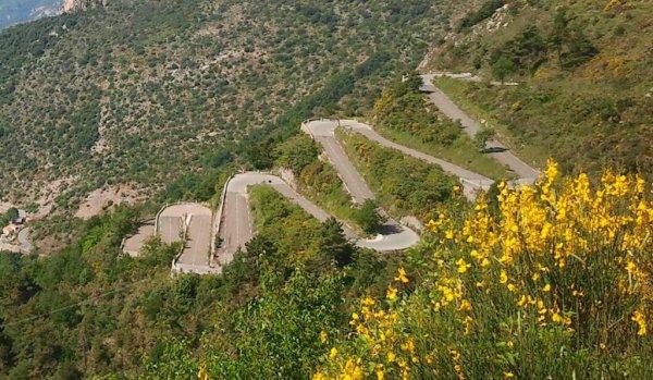 Sur les chemins des cols de l'arrière-pays niçois (septembre 2012)