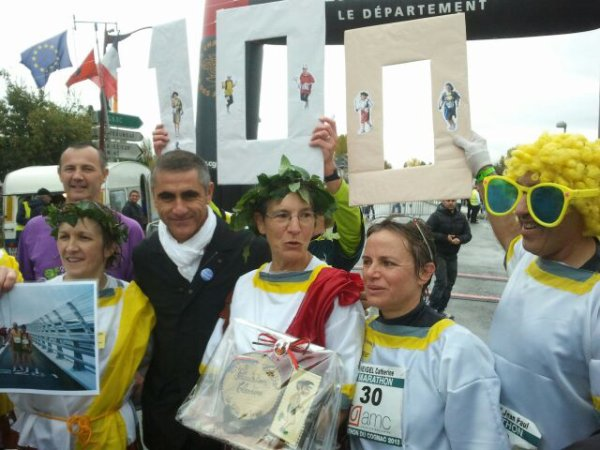 Marathon de Jarnac (novembre 2012)