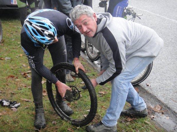 Marathon VTT en Belgique (novembre 2012)