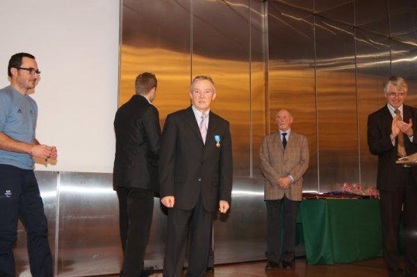 Remise des Médailles de la Jeunesse et des Sports (11 décembre 2012)