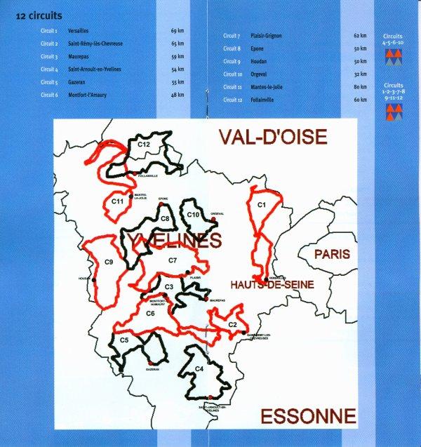 CycloGuide 78; circuit n° 9: Houdan (décembre 2012)
