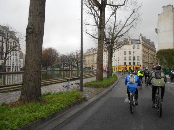Sortie parisienne en VTT (janvier 2013)