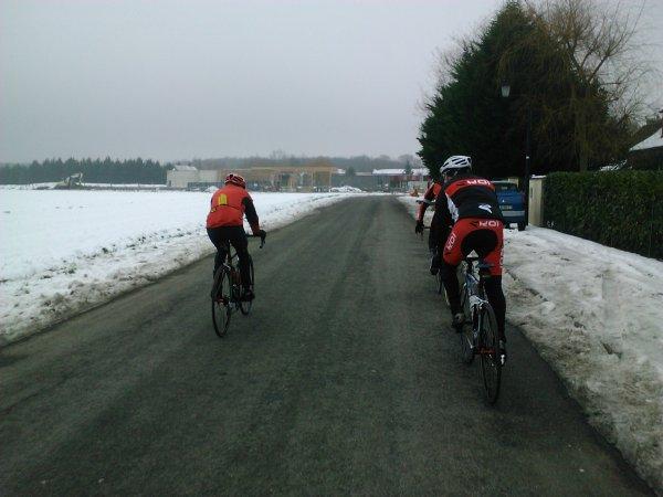 Récit d'un entraînement ordinaire (janvier 2013)