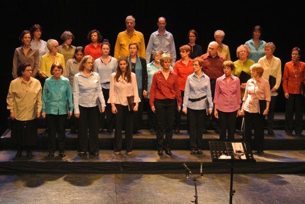 """Concert des chorales """"Pour nous réchauffer, LE CHOEUR"""" (février 2013)"""