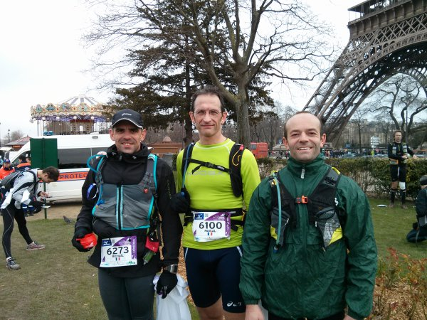 Éco-trail de Paris (mars 2013)