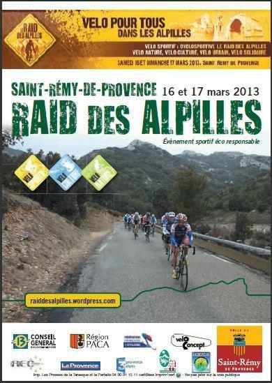 Cyclosportive: Raid des Alpilles (mars 2013)