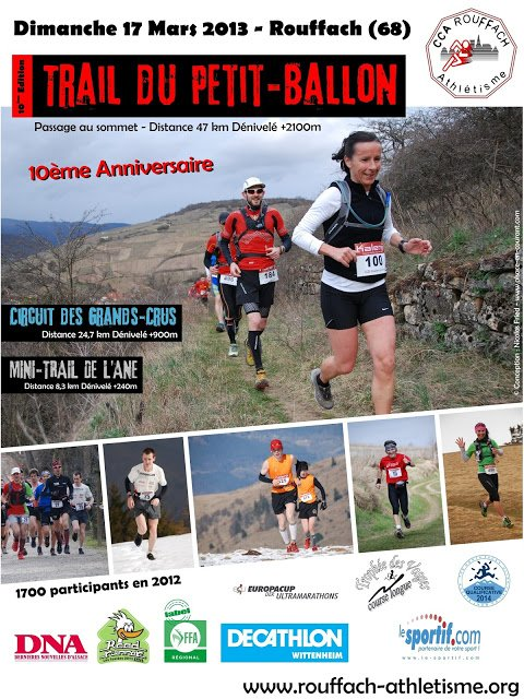Trail du Petit Ballon (mars 2013)