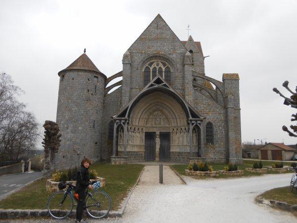 De Provins à Donnemarie-Dontilly (avril 2013)
